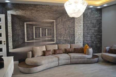 Duran ailesinin modern mobilya seçimleri