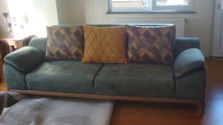 Ceyhun ailesinin yeşil-hardal yataklı oturma grubu seçimi (1)