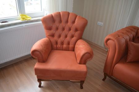 Savcı ailesinin avangart sakran chester koltuk takımı - Thumbnail