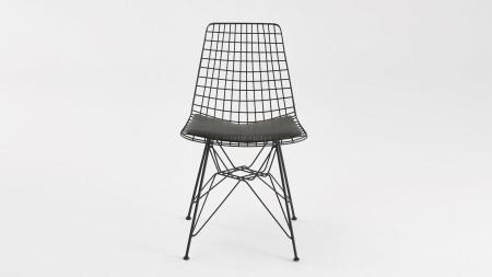 Yıldız Siyah Metal Sandalye (1)