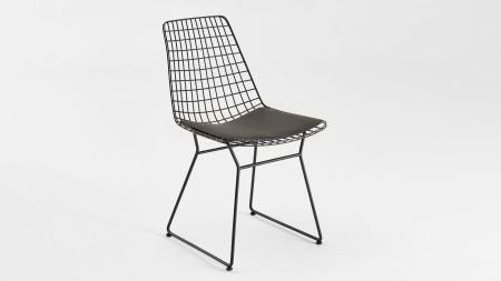 Yıldız U Ayaklı Metal Sandalye