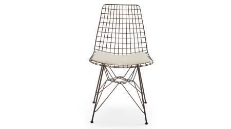 Çamlıca - Yıldız Bakır Oksit Kaplamalı Metal Sandalye (1)