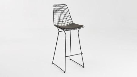 Yıldız U Ayaklı Metal Bar Sandalyesi