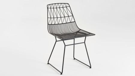 Bend Metal Siyah Sandalye