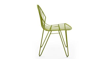 INT 19 Yeşil Renkli Metal Sandalye (1)