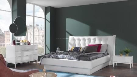 Berrak Beyaz Yatak Odası (1)