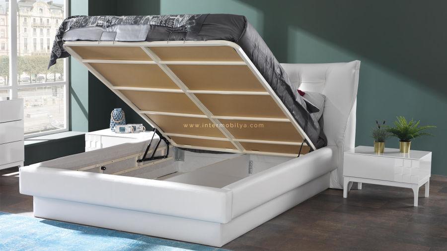 Berrak Beyaz Yatak Odası