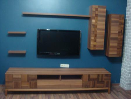 - Özdemir Ailesi'nin modern oturma odası seçimi
