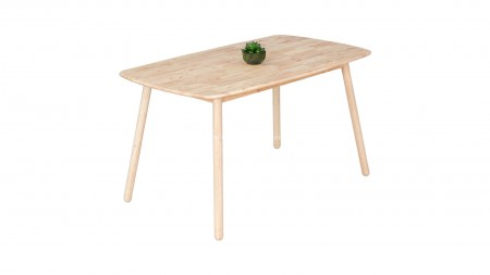 Seven-D Sarı Döşemeli Masa Sandalye Seti - Thumbnail