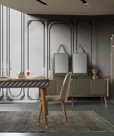 Bergamo Lüks Yemek Odası (1)