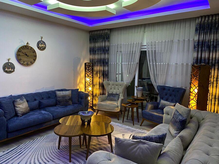 Türkbeyler Aile'sinin Oturma Odası