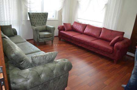 - Dengiz ailesinin göz alıcı ve keyifli oturma odası