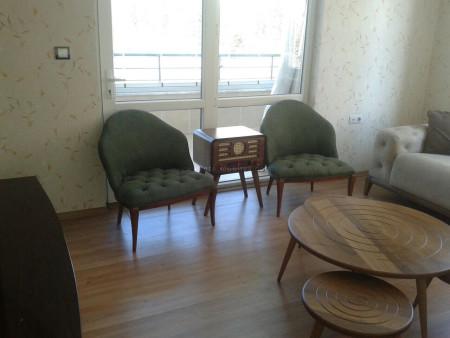 Doğa renklerinin huzuru Barut ailesinin oturma odasında - Thumbnail
